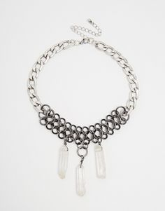 ASOS Solstice Shard Choker Necklace