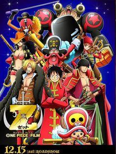 One piece film Z One Piece Manga, One Piece Film, One Piece New World, One Piece Crew, Watch One Piece, One Piece 1, One Piece Luffy, One Piece Cosplay, Bleach Movie