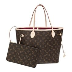 Discover Louis Vuitton Neverfull MM  Louis Vuitton celebrates the Neverfull  with a new version of this iconic bag. Look inside to discover a… cce224ae6b
