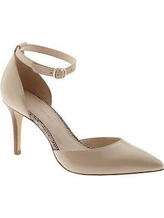 Giana pump | #BananaRepublic Nude heels. Current obsession.