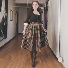 Rachel Maksy - The Pinup Companion Vintage Inspired Fashion, 1940s Fashion, Modern 50s Fashion, Pin Up, Vintage Outfits, Vintage Inspiriert, Image Fashion, Vintage Mode, Moda Casual