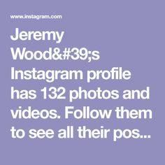 Jeremy Wood's Instagram profile has 132 photos and videos. Follow them to see all their posts. Business Angels, Luke Bracey, Challenge, Me Quotes, Marie, Profile, Illustrations, Photo And Video, Posts