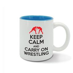 KEEP CALM and carry on WRESTLING wrestle combat by davesdisco