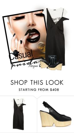 """""""1212"""" by klukina-mv ❤ liked on Polyvore featuring R13 and Robert Clergerie"""