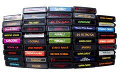 Atari games - classic fun!  @ http://www.flickr.com/photos/popkid/209100260/in/faves-21175007@N06/