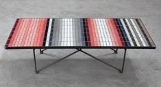 Heath tile mosaic coffee table Marfa Comes to San Francisco : Remodelista