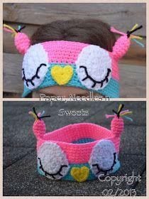 Paper, Needles n Sweets : Sleepy Owl