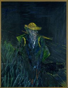 Study for a Portrait of Van Gogh I    1956  Oil on canvas  h 154.1 x w 115.6 cm  Acquired 1956  Robert and Lisa Sainsbury Collection, UEA 31    This image © Estate of Francis Bacon 2006. All rights reserved, DACS.