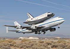 Space Shuttle Endeavour, resting atop NASA's 747 Shuttle Carrier Aircraft, departs Edwards AFB, Calif., for the last time on Sept. 21, 2012.