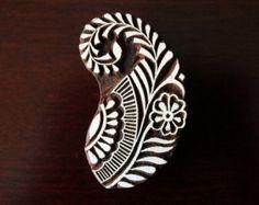 Textile Stamp Pottery Stamp Indian Wood Stamp Tjaps
