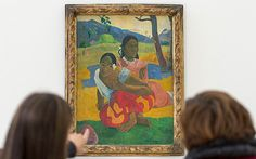 Paul Gauguin 1892 oil painting of two Tahitian girls bought by state-financed Qatar Museums in record sale