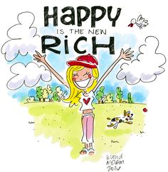 Happy is the new rich! by Blond Amsterdam 2018 - Blonde Pink Christmas, Christmas Mantles, Christmas Greetings, Christmas Lights, Easter Gifts For Kids, Blond Amsterdam, Watercolor Fashion, Celebration Quotes, Drawing Lessons