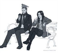 sherlock holmes fan art | funny fan art - Sherlock & Joan Fan Art (33460732) - Fanpop fanclubs