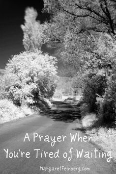 A Prayer When Your Tired of Waiting - MargaretFeinberg.com