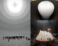 Cristo - largest inflatable structure by jamie hayles repinned by Isabel Brebbia
