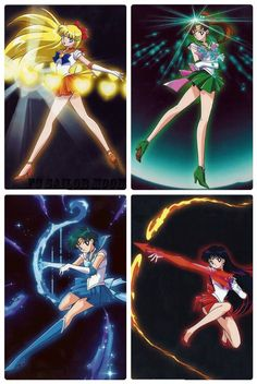 Venus Love and Beauty Shock Jupiter Oak Evolution Mercury Aqua Rhapsody Mars Flame Sniper Sailor Moon Crystal, Sailor Moon Fond, Arte Sailor Moon, Sailor Moon Stars, Sailor Moon Manga, Sailor Moon Background, Sailor Moon Wallpaper, Sailor Moom, Sailor Uranus
