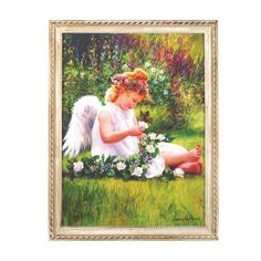 Garden Angel Wall Art