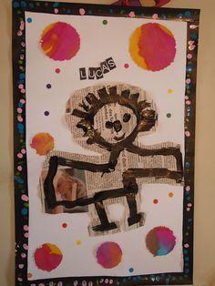 P9255522 Classroom Art Projects, Art Classroom, Creative Workshop, Creative Art, Painting For Kids, Art For Kids, Classe D'art, Childrens Wall Art, Ecole Art