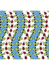 Bugapalooza: Ladybug Stripe Blue - In The Beginning 6jhj1