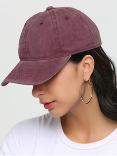 Shop for Outdoor Lines Embroidered Baseball Hat RED  Hats at ZAFUL. Only   5.82 and 8ec617e4074