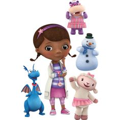 Doc McStuffins fan? Prove it! Put your passion on display with the Doc McStuffins Collection Fathead from Fathead.com!