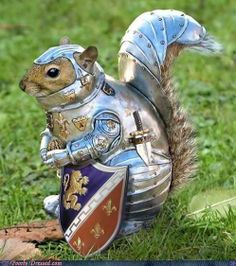 Hi SugarBush! Annabelle here! This little guy looks very handsome, but I bet he'd rather be in his comfy jammies! Happy Saturday! Knight of Nuts.