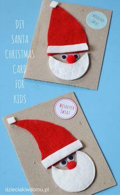 diy-christmas-card for kids