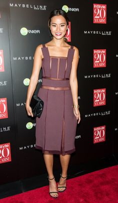 Actress Jamie Chung attends the Instyle 20th Anniversary Party at Diamond Horseshoe at the Paramount Hotel on September 8, 2014 in New York City.  (Photo by Gilbert Carrasquillo/FilmMagic)