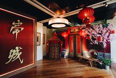 An Old-World Chinese Wedding at Ti Chen, The Saujana Hotel Kuala Lumpur - The Wedding Notebook magazine Chinese Wedding Decor, Chinese Theme, Aladdin Wedding, Old Shanghai, Wedding Notebook, Chinese Culture, Old World, Chen