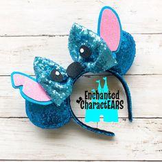 Stitch Ears Lilo and Stitch Ears Custom Minnie Ears Disney Ears Stitch Ears Lilo und Stitch Ears Custom Minnie Ears Disney Ears Disney Ears Headband, Diy Disney Ears, Disney Minnie Mouse Ears, Disney Headbands, Disney Crafts For Adults, Disney Diy Crafts, Diy Crafts For Teen Girls, Lelo And Stitch, Lilo Y Stitch