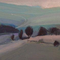 (94) Malcolm Ashman Landscapes Landscape Drawings, Landscape Illustration, Landscape Photos, Abstract Landscape, Landscape Paintings, Illustration Art, Abstract Art, Oil Painting Trees, Artist Painting