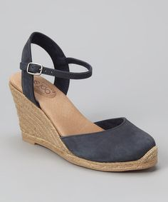 Take a look at this Denim Bethany Espadrille by Me Too on #zulily today!