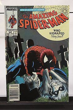 Early November 1988 The Amazing Spider-Man #308 Marvel Comic Book