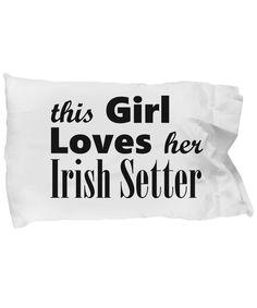 Irish Setter - Pillow Case