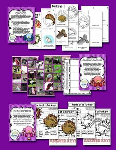 Great Science UnitGreat Life Science Unit about turkeys.  There's critical thinking activities and levelled readers for research and inquiry activities.  Full color photos and lots of science activities as well.
