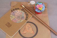 """Regalito para los invitados (""""mapa mundi"""") en un cumpleaños"""