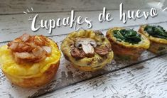 Desayuno Saludable - cupcakes salados - las recetas de Laura Diy Food, Baked Potato, Food Porn, Brunch, Baking, Ethnic Recipes, Breakfast Healthy, Healthy Recipes, Plate