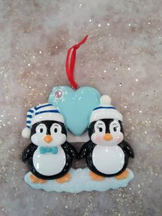 Hey, I found this really awesome Etsy listing at https://www.etsy.com/listing/211750760/penguin-personalized-couplesbest