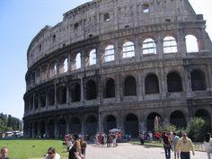 Rome! Coliseum  So, cool.