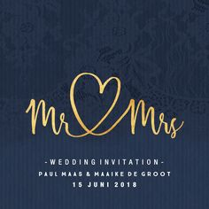 Trendy wedding card in dark blue with gold - Trendy wedding card in dark blue with gold - Wedding Logos, Wedding Pins, Trendy Wedding, Perfect Wedding, Wedding Cards, Our Wedding, Wedding Invitations, Invitation Wording, Invitation Cards
