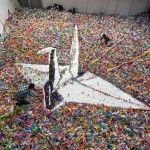 Origami Crane Made from … 2,000,000 Origami Cranes: A Flapping Success for Japan Earthquake Relief