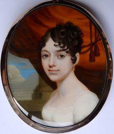 Alexander Gallaway c1805 Miniature Portrait