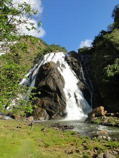 Smokey Falls, cerca de la ciudad de Alegre, en el estado de Espíritu Santo, sureste de Brasil.