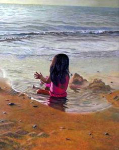 a-line-between-ocean-and-sand. Thu Nguyen