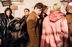 Tommy Ton Shoots Behind the Scenes at Haider Ackermann's First Berluti Menswear Show - Vogue