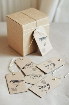 Birds, birds, birds :) Container, Packaging, Gift Wrapping, Graphic Design, Inspiration, Pepper, Vanilla, Stamps, Gifts