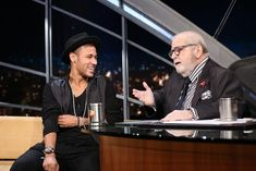 """heartsoftruth: """" """"Neymar getting interviewed by Jô Soares. The interview was aired on 12.07.16. on Brazilian TV. """" """""""