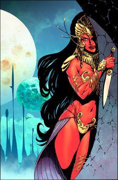 John Carter : Warlord Of Mars # 3 Variant cover by panelgutter on DeviantArt