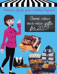 Get a Sneak Peak - Our New Delicious Gourmet Food Gifts for 2015!