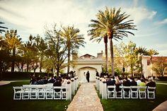 Outdoor gazebo wedding in Las Vegas - Wedding Planner:  http://www.GreenOrchidEvents.com  Photography:  http://www.jandjphotos.com;  Officiant:  http://www.revlindavenniro.com;  Floral Designer: http://www.naakitifloral.com